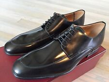 Bally Newland Black Laces up Shoes Size US 12 Made in Switzerland