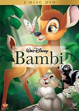 Bambi DVD 2 Disc Set Special Edition BRAND NEW, SEALED, SLIPCOVER Free Shipping!