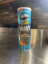 Pringles HALO Moa burger LIMITED EDITION FLAVOR WAVY