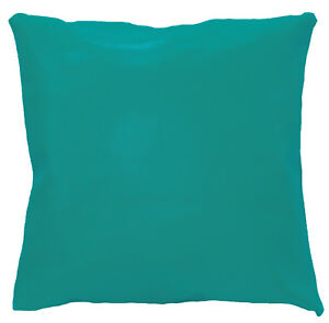 pe210a Green Turquoise Faux Leather Classic Cushion Cover/Pillow Case Customsize