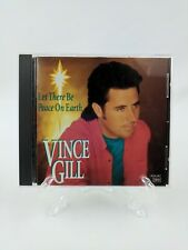 Christmas CD Vince Gill Let There Be Peace On Earth 1993