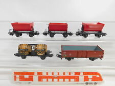 Bz736-0, 5 #5x Märklin H0/AC Freight Car/Tipping Trailers 4513 +4510 Etc.