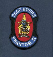 McDONNELL F-4 PHANTOM 2500 FLIGHT HOURS USAF US NAVY USMC Fighter Squadron Patch