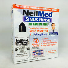 Neilmed Sinus Rinse Kit, 1 Kit, 50ct Premixed Packets 705928001008A800