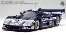 Exoto 1/18 Sauber Mercedes C9 #21 Kouros 1987 Spa Francorchamps RLG18192 MIB