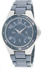 Anne Klein Women Multifunction Gray Ceramic Dress Watch 40mm 10/9863GYGY $195