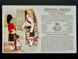 History & Tradition ARGYLL & SUNTHERLAND HIGHLANDERS Postcard Gale & Polden 100