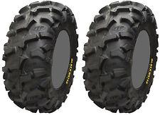 Pair 2 ITP Blackwater Evolution 27x11-14 ATV Tire Set 27x11x14 27-11-14
