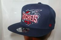 Houston Rockets Mitchell & Ness NBA Team Solid Hi Crown Fitted Cap,Hat       NEW