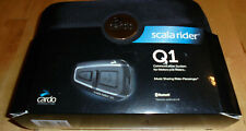 Scala Rider Q1 Single Motorcycle Communication With Riders.Excellent Condition.