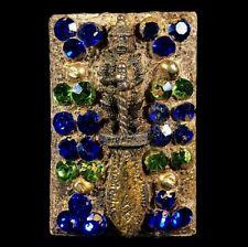 Phra Somdej Ajarn Toh Inlay Leklai Gems  Wat Phra Kaew Thai Amulet