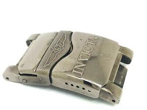 Invicta Reserve 0515 Gunmetal Tone Men's Watch Clasp + End Links 26mm (LL1381)