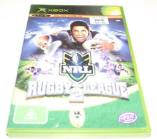NRL Rugby League 2 XBOX Original PAL *Complete*