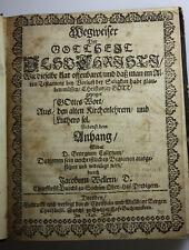Wegweiser der Gottheit Jesu Christi - Weller, Jacob  - Bergen: Dresden, 1649