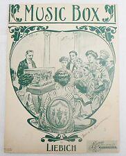 "Sheet Music "" Music Box "" Copyright 1923"
