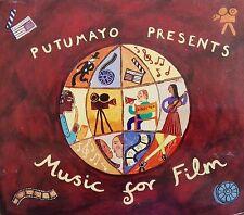"PUTUMAYO Presents ""MUSIC FOR FILM"" sampler promo rare (2 CD)"