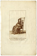 Antique Print-PORTRAIT-PEASANT WOMAN-BUIKSLOOT-AMSTERDAM-Picart-ca. 1750