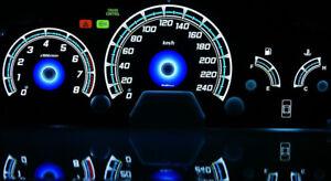 98-02 Honda Accord Coupe glow gauges dials plasma dials kit tacho glow dash
