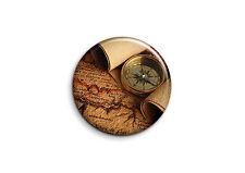 Vintage - Carte 1 - Badge 25mm Button Pin