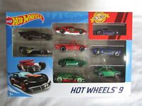 Hot Wheels 9 Pack Cars Bundle Assorted Cars Pack Of 9 Mattel  Brand New