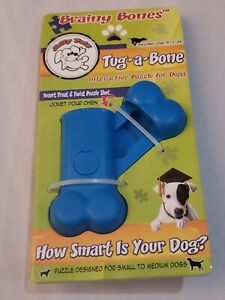 Brainy Bones Tug a Bone Interactive Puzzle for Dogs