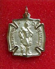 "Large St Florian Firefighter medal 14K Yellow Gold, 7.75 Grams ""Wholesale"""