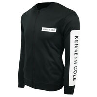 Kenneth Cole Reaction Men's Full Zip Logo Sweatshirt