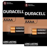 4 x Duracell AAAA batteries Alkaline 1.5V MX2500 E96 LR8D425 MN2500 Jabra Pack 2