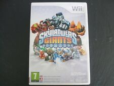 NINTENDO Wii SKYLANDERS GIANTS GAME ONLY UK PAL VERSION FREE UK POSTAGE