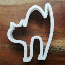 Cat Arched Back Cookie Cutter Biscuit Pastry Fondant Stencil Halloween AL142