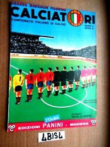 ALBUM CALCIATORI PANINI 1964 1965 serie allegata al quotidiano L'UNITA   (4BIS4)