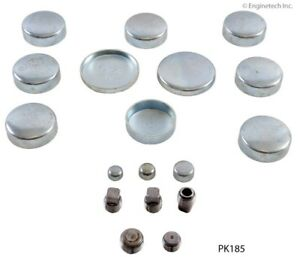 Steel Freeze Plugs Kit Chevy 4.3L V6 1985-2009 Made In The USA