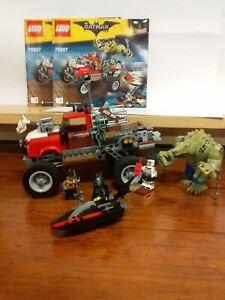 Lego Batman Killer Croc Tail-Gator (70907)