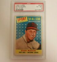 1958 Topps All Star Stan Musial PSA 6
