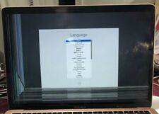 """New listing MacBook Air 13"""" A1932 2018 Oem Rose Gold Display Lcd Assembly Cracked As Is"""