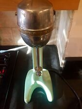 Vintage Hamilton Beach Milk Shake Malt Mixer No 33 Green (needs repair)