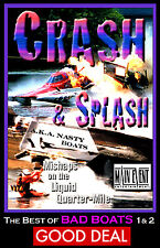 NITRO Drag Boats, CRASH & SPLASH, NASTY BOATS, Top Fuel Hydros, A MAIN EVENT DVD