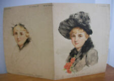 1892 Alice Hirschberg Art Amateur Color Study Premium