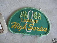 VINTAGE Uniform Patch Embroidered Yaba Bowling LOOK
