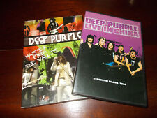 LOTTO 2 DVD DEEP PURPLE - MASTERS FROM THE VAULTS & LIVE IN CHINA