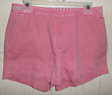 EXCELLENT WOMENS TOMMY HILFIGER PINK CHAMBRAY SHORTS   SIZE 10