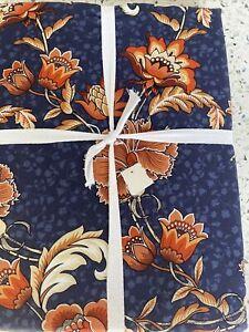 "Williams Sonoma Nouveau Floral 70"" x 108"" RECTANGULAR Tablecloth"