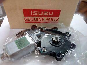 Isuzu PICK-UP Front Left Electric Power Window Motor D-MAX 2003-10 Genuine Parts
