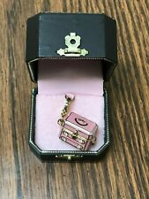 VINTAGE RETIRED JUICY COUTURE JEWELRY CHEST CHARM PRE-OWNED