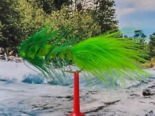 "Streamer "" Wooly Bugger Green ""  3er Set"