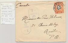 KUT (BRITISH) NZECA TO CANADA 1944 CENSOR COVER, POSTED IN N.RHODESIA(SEE BELOW