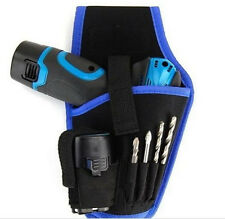 Electrician Cordless Drill Bag Holder Holst Tool Pouch For 12v drill Waist Bag
