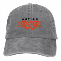 Waylon W Logo Cowboys Adjustable Cap Snapback Baseball Hat