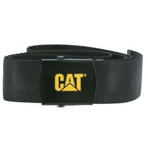 CAT Trademark logo belt adjustable webbing belt (3100001)