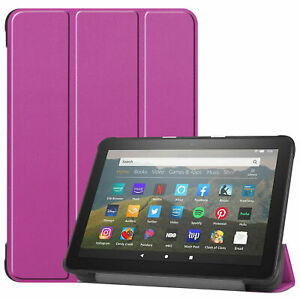 Slim Cover For Amazon Fire HD8/Plus 2020 8.0 Flip Case Protective Stand Pocket